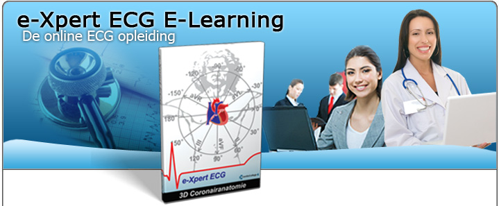 CardioCollege e-Xpert ECG: De interactieve online ECG e-learning applicatie